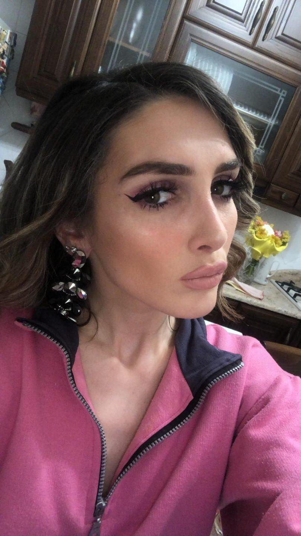 makeup modella