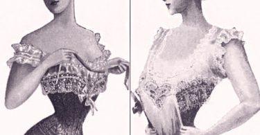 storia intimo femminile corsetto