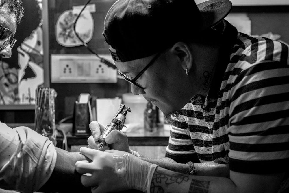 tatuatore foto