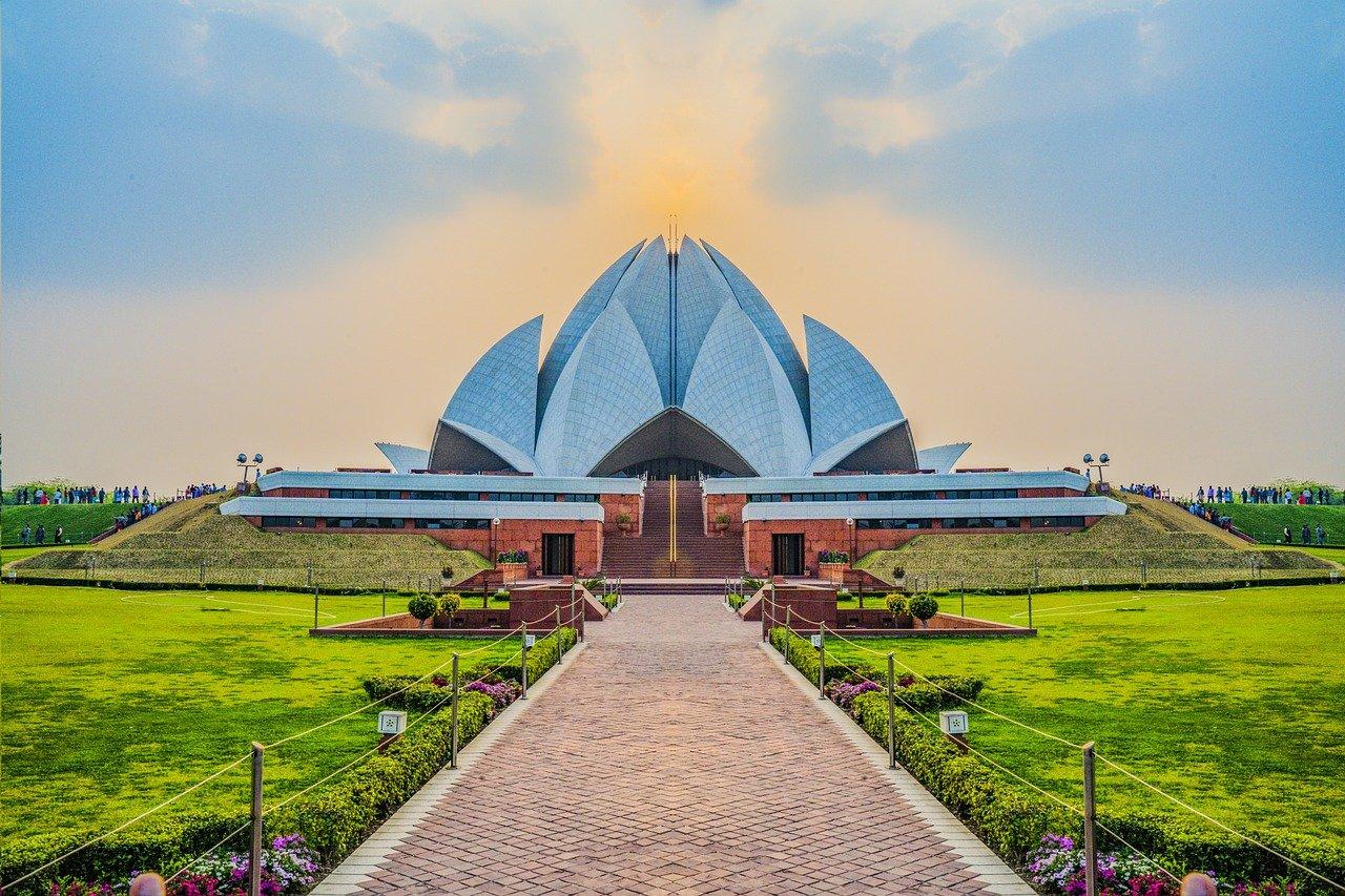 tempio di loto nuova delhi