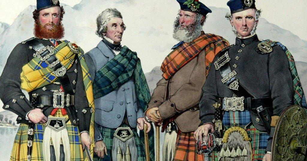 tartan stile moda scozzese