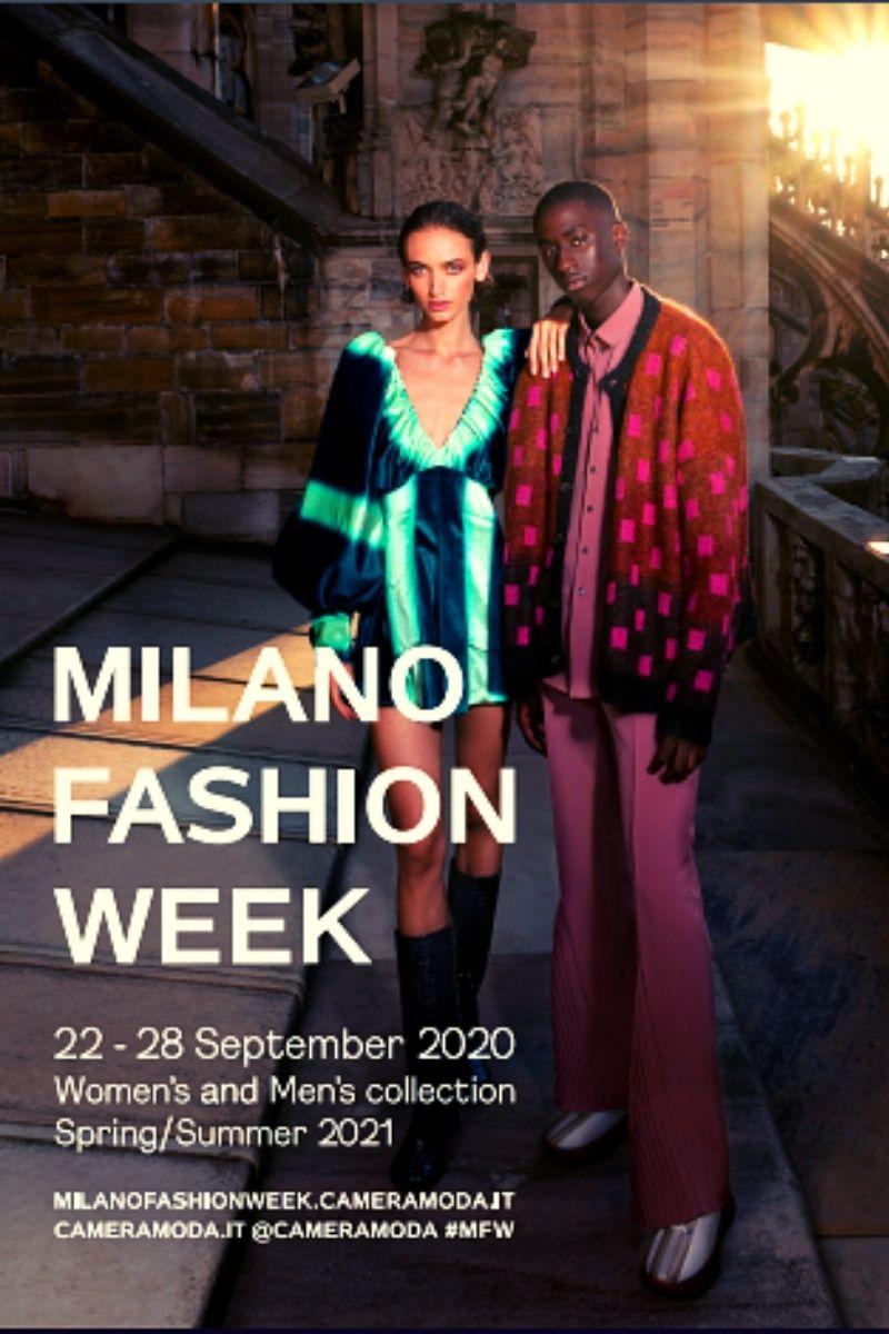milano fashion week locandina