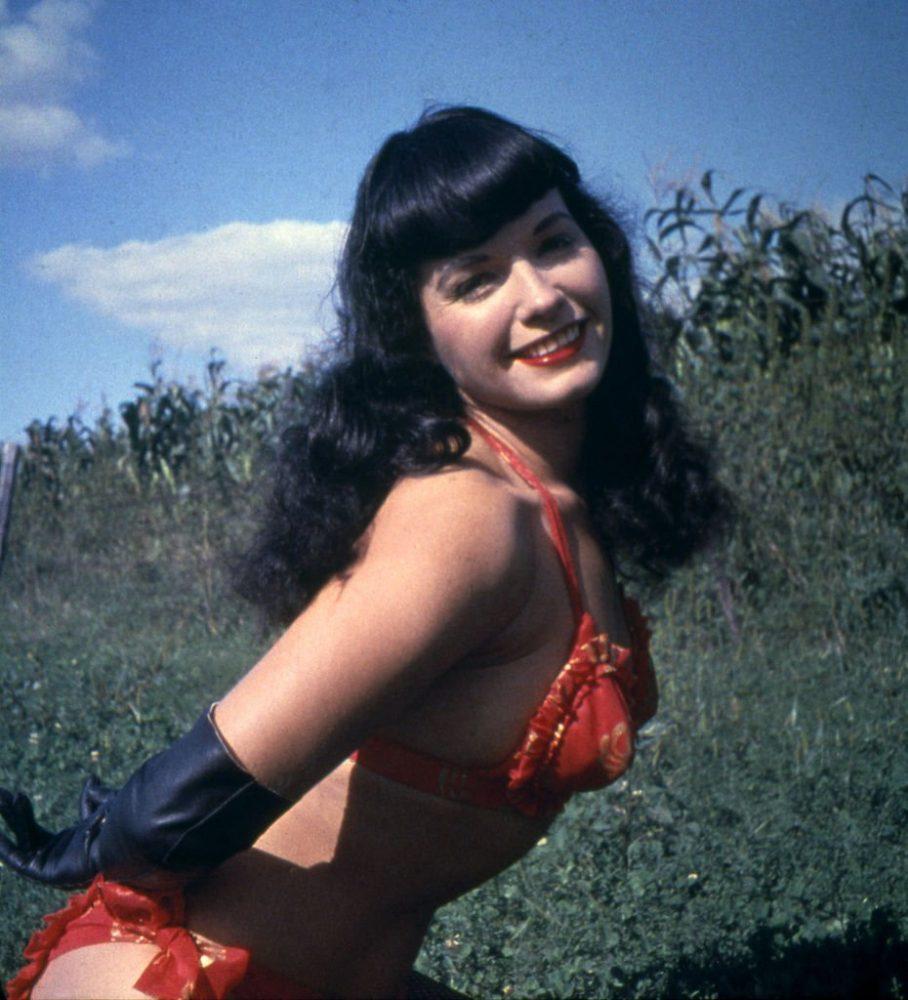 Bettie Page foto