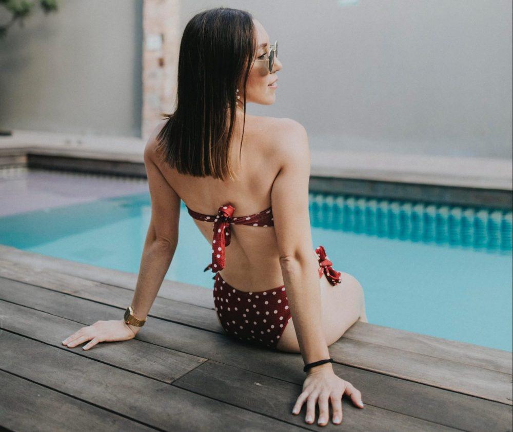bikini con fiocchi