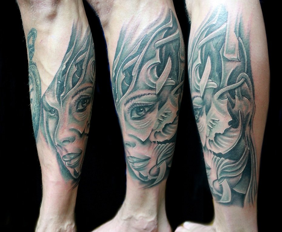 tatuaggi realistici foto