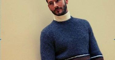 maglione cashmere uomo