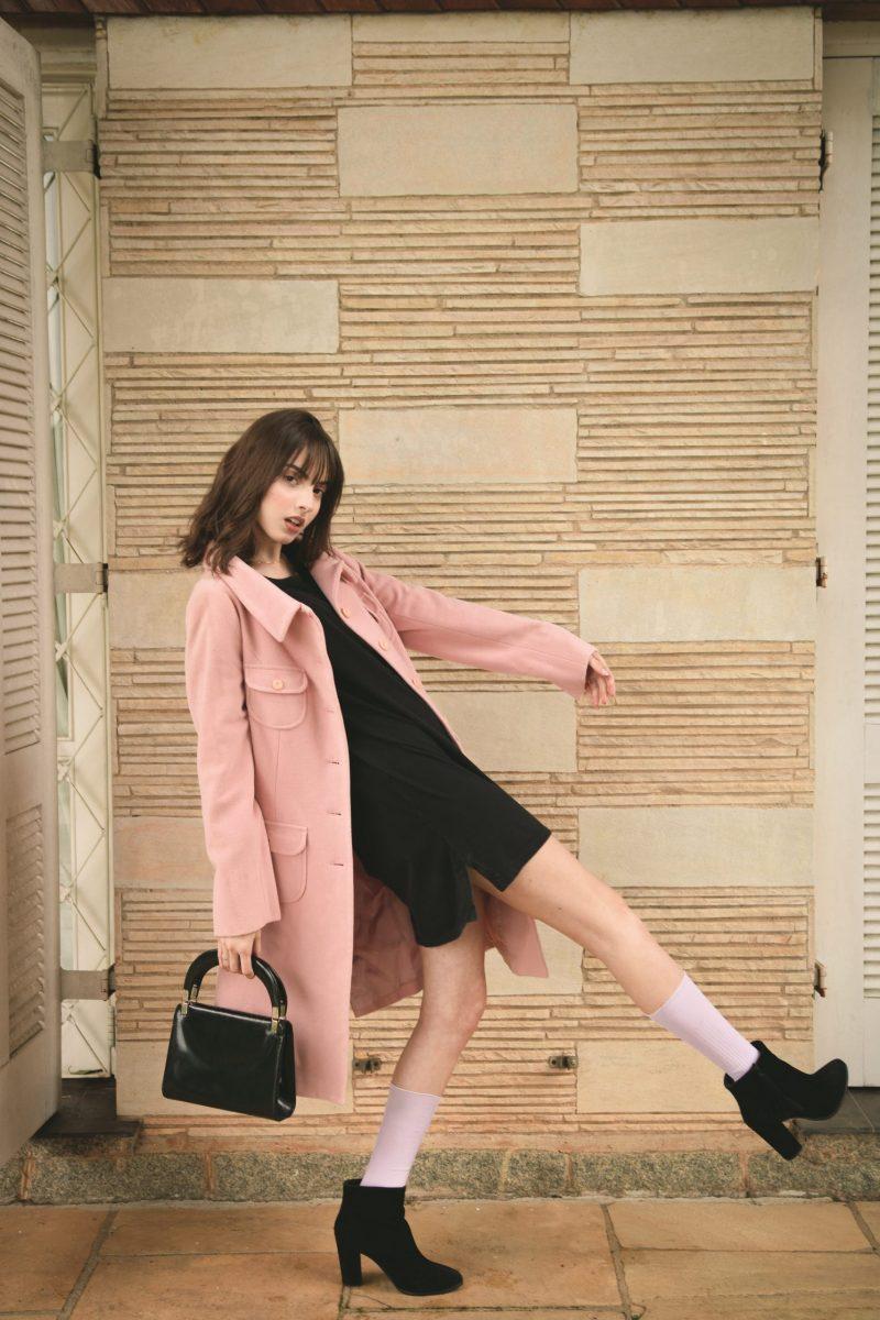 scarpa elegante da donna con calzino