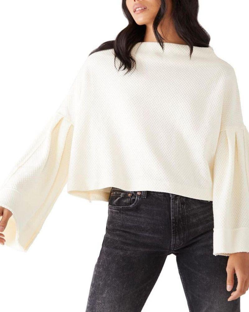 abbinamento pullover cropped