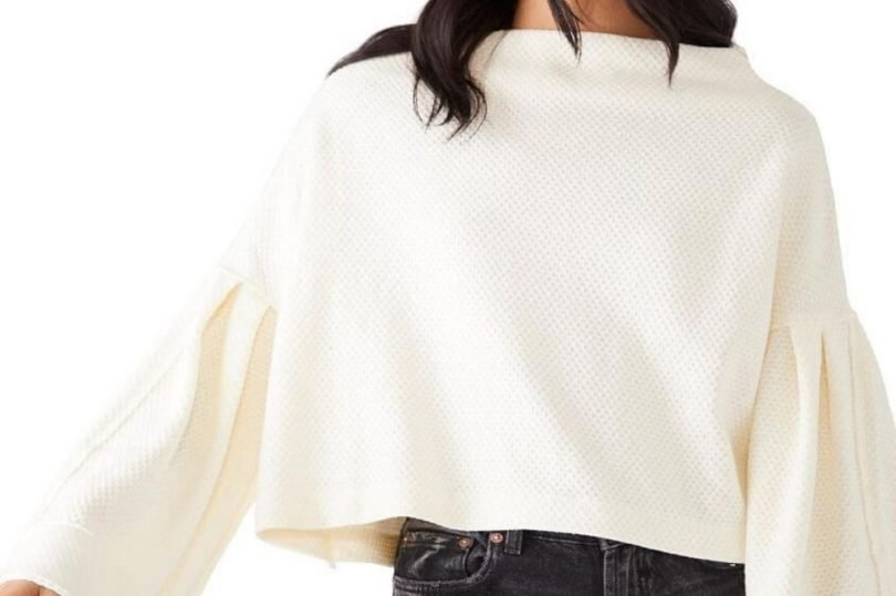 pullover cropped foto