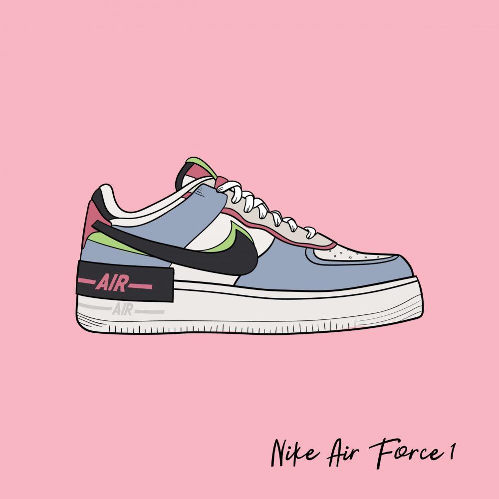 nike air force one scarpa