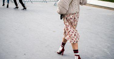 calzini donna outfit