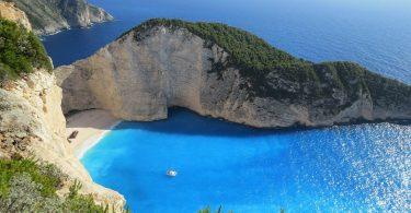 spiaggia zante famosa foto